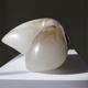 Miryam (2017) - Carol Crawford Sculpture - Scaglione Alabaster (No Base) - 18cm H x 28xm W x 25cm D - Australia