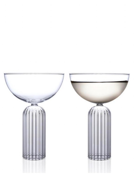 fferrone Fferrone Glassware - May Coupe - Set of 2