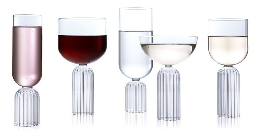 fferrone Fferrone Glassware - May Medium Glass - Set of 2