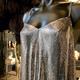 Laura B LAURA B - Tasmin Top - Silver Mesh - Size Smll - Med - Handmade in Spain