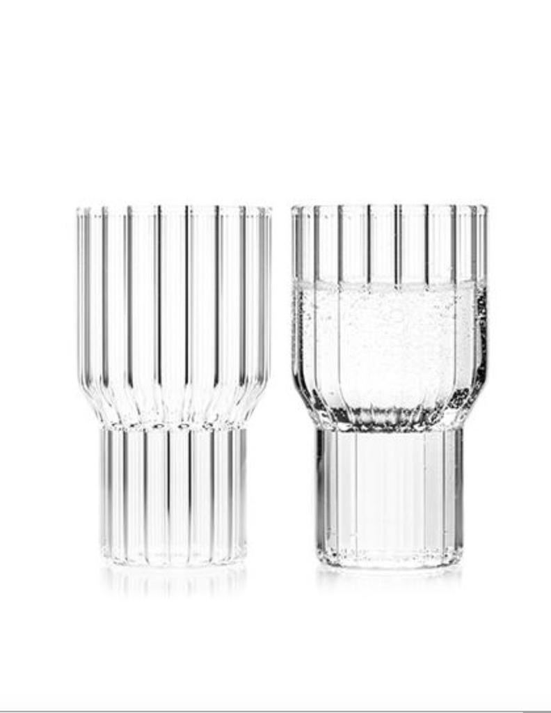 fferrone Fferrone Glassware - Boyd Large Glass - Set of 2