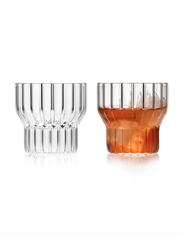 fferrone Fferrone Glassware - Boyd Small Glass - Set of 2