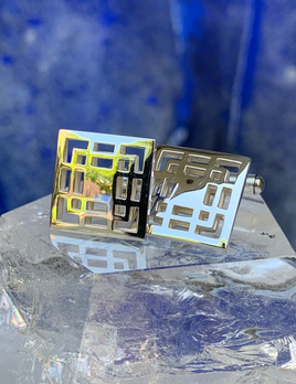 Rick Southwick - Sterling Silver Squares Cufflinks<br />  - Handcrafted in Australia