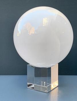 White Quartz Sphere D18cm
