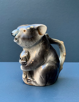 Vintage Ceramic Koala Jug c1950 - Japan