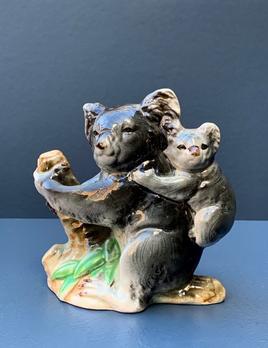 Vintage Ceramic Koala - Japan c1960