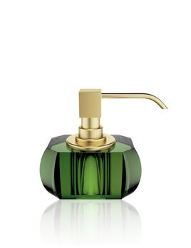 DW - Kristall Collection - Soap Dispenser Matt Gold - Germany