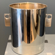 B.M.V.A. Vintage Silver Plated Champagne Bucket/ Ice Bucket - Modernist with Circle Cut Handles