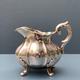 Antique Silver Milk Jug and Sugar Bowl - Denmark '51 & '53 - Hugo Grun Copenhagen