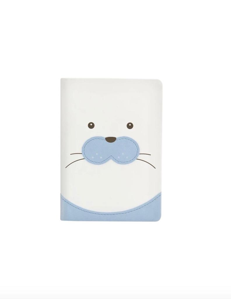 IKONink Animal Pals Notebook A6 - Baby Seal