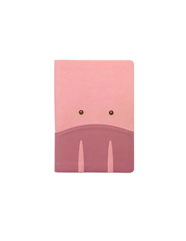 IKONink Animal Pals Notebook A6 - Pig