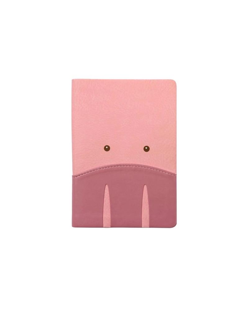 IKONink Animal Pals Notebook A6 - Pig