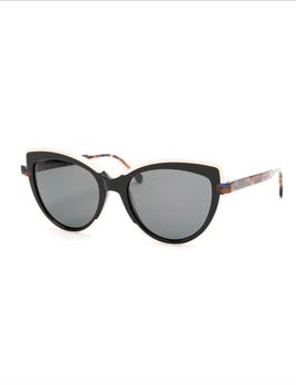 Proper Goods Res / Rei Sunglasses - Gelsomino - Black Blush Pink Montengro - Acetate - Handmade in Italy