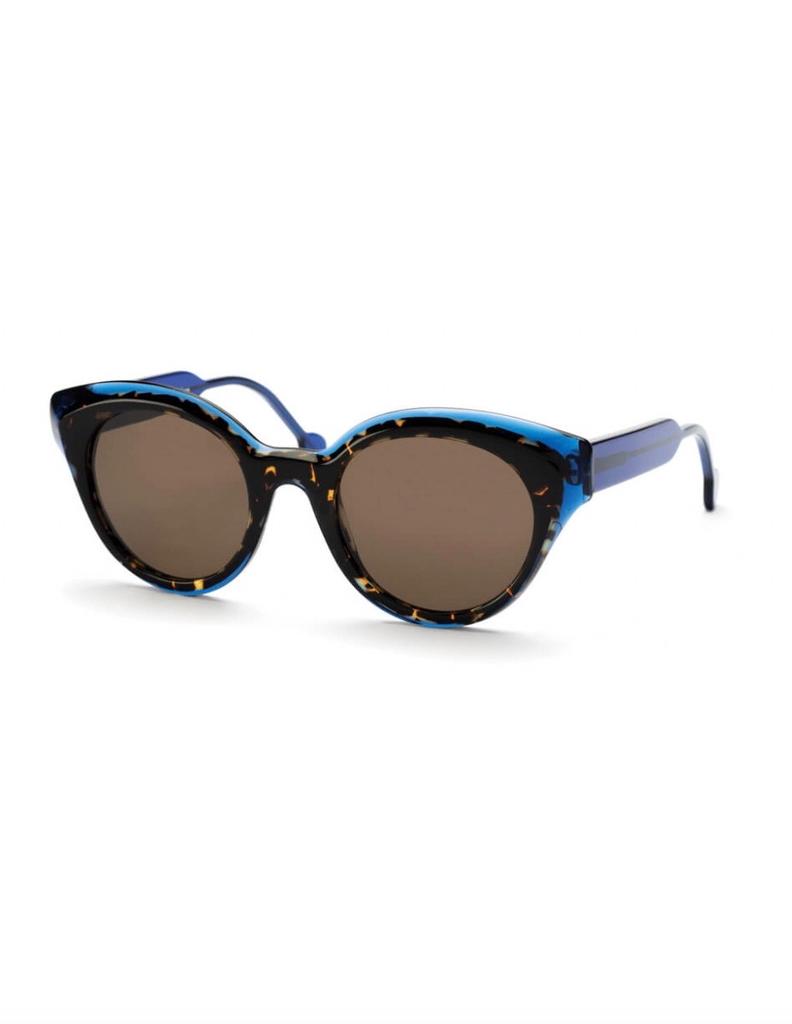 Proper Goods Res / Rei Sunglasses - Roma Occhiale - Blue/Dark Havana - Acetate - Handmade in Italy