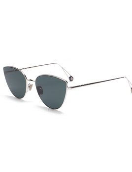 Proper Goods Ahlem Eyewear - Place du Louvre - White Gold -  Handmade in France