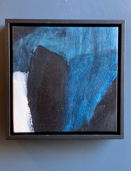 Optimisim and Utopia 2019 - Antonia Mrljak - Acrylic on Canvas - 28.5x28.5cm Framed