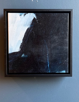 I Wish I was a Song 2019 - Antonia Mrljak - Acrylic on Canvas - 28.5x28.5cm Framed