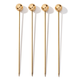 AERIN - Mattea Cocktail Picks - Boxed Set of Four 4 - Stainless Steel