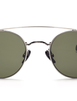 Proper Goods Ahlem Eyewear - Bastille - White Gold - Handmade in France