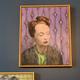 James King - Screen Test #3 2019 - Oil on Board - <br /> 47xH52.5cm Framed