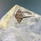 Vintage Art Deco Platinum and Diamond Ring .75ct - c1930
