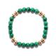 Spiritus Stones - The Palm Beach Bracelet with Malachite & 14ct Gold