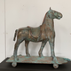 Thomas Bucich - EquusAntique Childs Toy, Copper Plated 75 x 77 x 28 cm