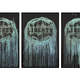 Thomas Bucich - Liberty Series of 3 Mixed Media on Board - Framed 185 x 125 cm - Sold Individually
