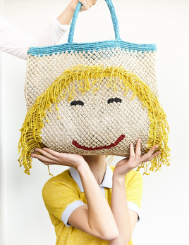 Deacon MD Miss Molly Jute Bag - Designed in Notting Hill, Handmade by Women in Bangladesh