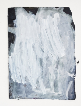 Antonia Mrljak - We do what we know - Acrylic and Ink on Rag Paper - 63x80cm - Black Box Frame Non Reflective Glass