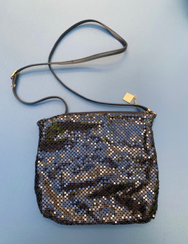 BECKER MINTY Vintage Original Black Whiting and Davis Mesh Shoulder Bag - USA
