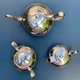 Vintage EPNS Silver Plate Tea Set - Teapot, Creamer & Jug