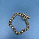 Vintage Gold Toned Bar Bracelet