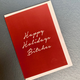 BECKER MINTY Happy Holidays Bitches - Pack of 6 Greeting Cards