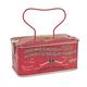 Casa Italia Leone Hazelnut Brittle Chocolate Coating Red Tin - 150g