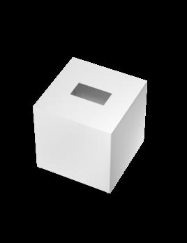 DW - Tissue Box - Square - Matte White - D13.3xH13.5cm - Germany