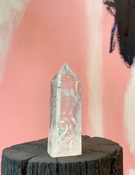 Clear Quartz Point - H13.5cm
