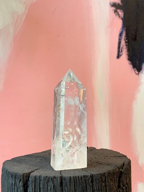 Clear Quartz Point - H13.5cm