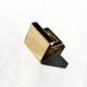 Daniel Espinosa Daniel Espinosa - Adria Square Ring - 22ct Gold Plated