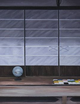 Obscure Window 3, Tsugamo 2015 - James King - 100x100cm (unframed)