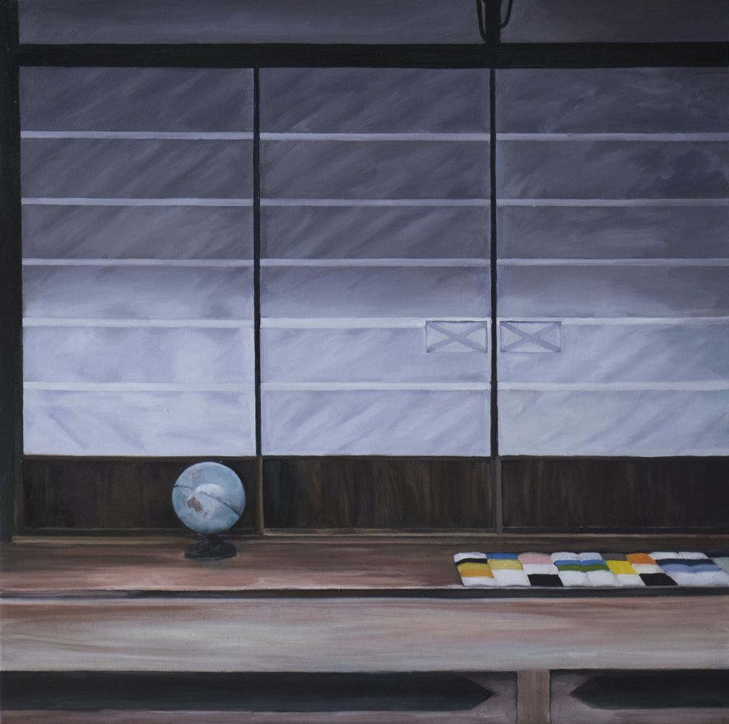 Obscure Window 3, Tsugamo 2015 - James King - 100x100cm (unframed)