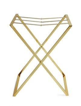 Aerin AERIN - Brass Butler Tray Stand  45x67x79cm