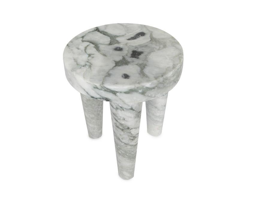 Kelly Wearstler Kelly Wearstler - Small Tribute Stool - Big Flower Marble <br />30.5x38cm