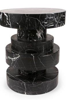 Kelly Wearstler Kelly Wearstler - Apollo Stool - Negro marquina marble <br />38x45cm