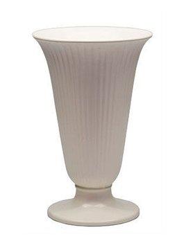 Vintage Wedgwood - Bell Vase - Moonstone (matte cream finish)  - 20cm - UK c.1960