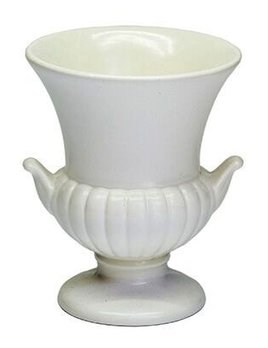 BECKER MINTY Vintage Wedgwood - Urn/vase - Moonstone (matte cream finish)  - 9cm - UK c.1960