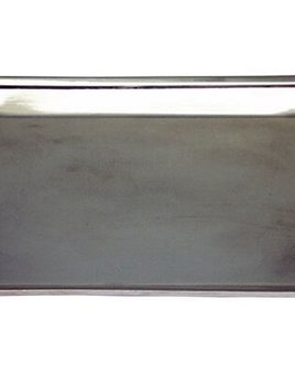 "Corbell Silver Sterling Silver Plated Rectangular Tray or Catch All - Plain 6.5"" x 9.25"""