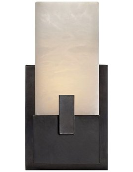 Kelly Wearstler Kelly Wearstler - Covet Short Clip Bath Sconce - Bronze