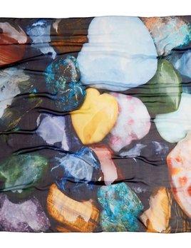 BECKER MINTY Mr.MINTY x GOOD&Co Scarf - #BeckerMintyLove - 100% Silk - 160x130cm