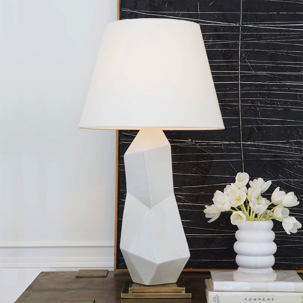 Kelly Wearstler Kelly Wearstler - Bayliss Table Lamp - White